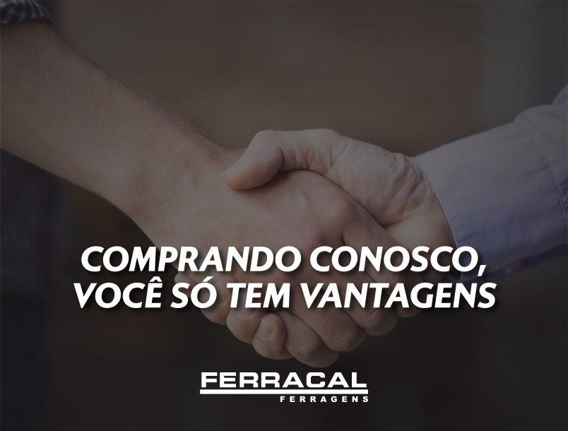 COMPRANDO CONOSCO, VOCÊ SÓ TEM VANTAGENS!